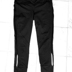 Lululemon Reflective Size 10 7/8 Black Pant